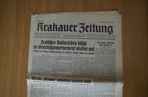 Krakauer Zeitung – Baltendutsche do Wartegau, przesiedlenia i uchodźcy w III Rzeszy