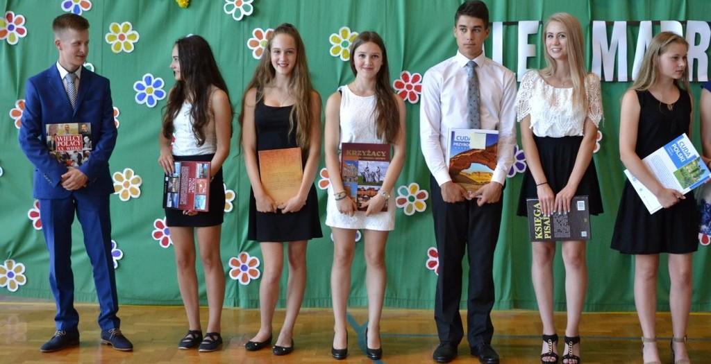 Najlepsi gimnazjaliści 2016 (kl 3)