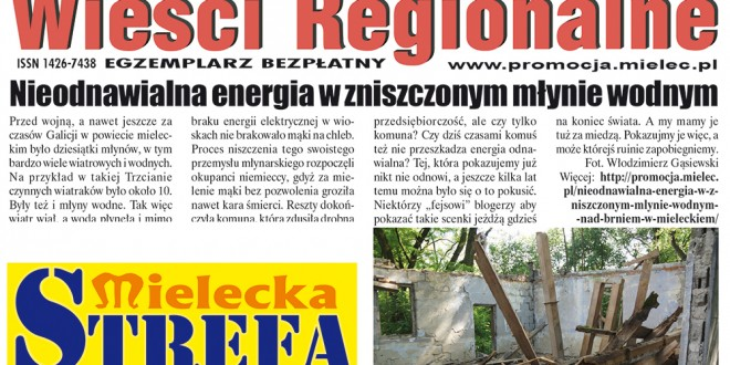 """Wieści Regionalne"" nr 6/16(324) i ""Magazyn Prasowy Strefa"" nr 6(407) z 24 VI 2016 r."