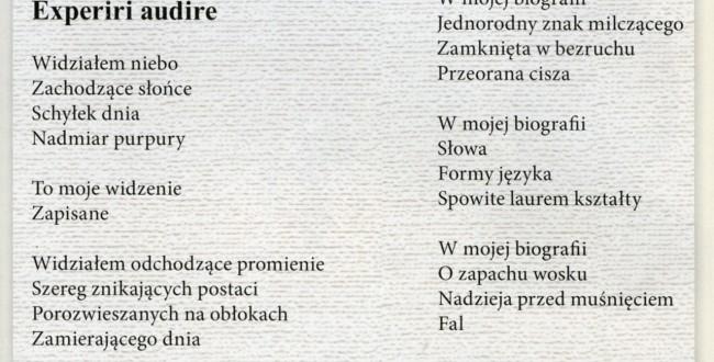 Wiersze Stefana żarowa W Nasz Dom Rzeszów Promocja Mielec