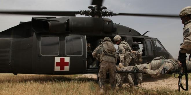 Uniwersalność helikoptera BLACK HAWK na konferencji poświęconej ewakuacji medycznej