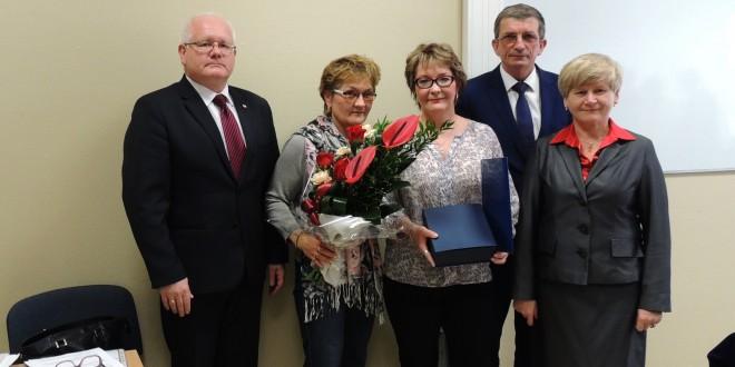 Rada Powiatu Mieleckiego odznaczyła Eugeniusza Szyfnera