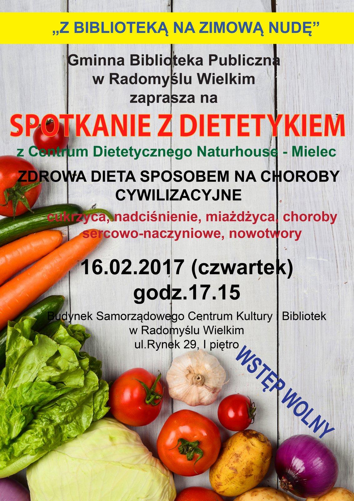 SPOTKANIE Z DIETETYKIEM cz.II