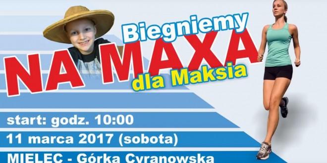 BIEGNIEMY NA MAXA DLA MAKSIA trasa biegu charytatywnego