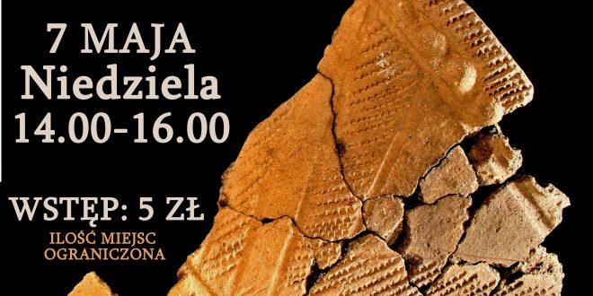 Rodzinne warsztaty archeologiczne w niedzielę 7 maja w Pałacyku Oborskich