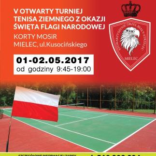V otwarty Turniej w tenisie ziemnym z okazji dnia Flagi Narodowej