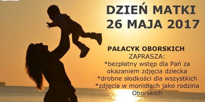 Specjalna oferta Pałacyku Oborskich z okazji Dnia Matki