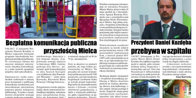 """Wieści Regionalne"" nr 6/17(336) i ""Magazyn Prasowy Strefa"" nr 6(416) z 21 VI 2017 r."