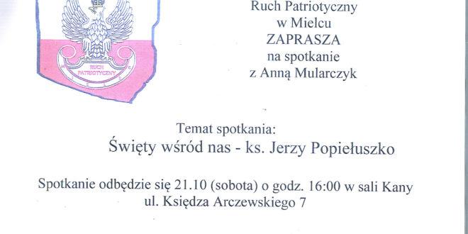 Święty wśród nas – ks. Jerzy Popiełuszko