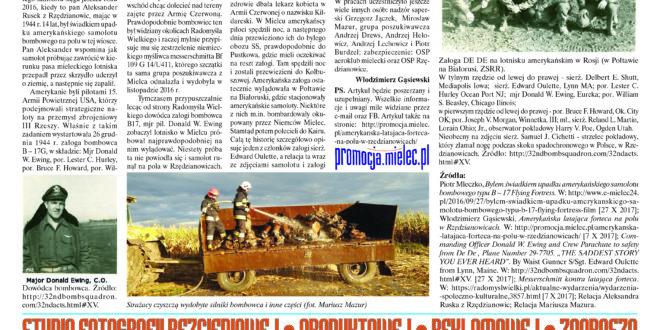 """""""Wieści Regionalne"""" nr 10/17(340) i """"Magazyn Prasowy Strefa"""" nr 10(422) z 31 X 2017 r."""