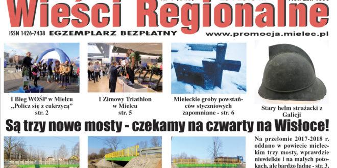 """""""Wieści Regionalne"""" nr 1/18(343) i """"Magazyn Prasowy Strefa"""" nr 1(425) z 29 I 2018 r."""