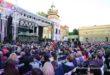 """""""Skrzypek na dachu"""" rozgrzał 3000 widzów Festiwalu w Łańcucie"""