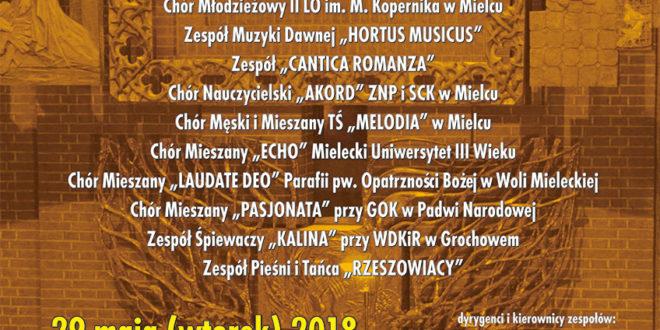 Koncert pieśni maryjnych 29 maja 2018