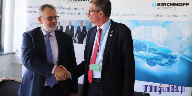 Kirchhoff wspiera edukację, będzie tunel pod ul. Wojska Polskiego i nowe parkingi na Strefie