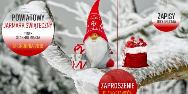 Jarmark świąteczny Zaproszenie Dla Wystawców Promocja Mielec