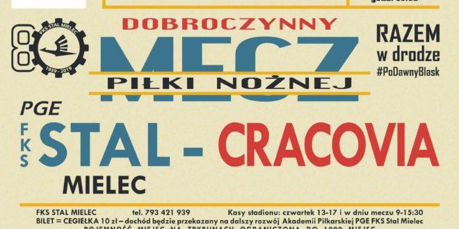 Mecz dobroczynny: PGE FKS Stal – Cracovia