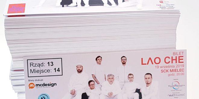 Bilety ONLINE na koncert LAO CHE w Mielcu!