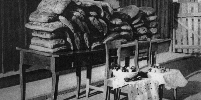 Przedwojenne chleby wielkanocne w katolickiej kolonii niemieckiej Schönanger obecnie Orłów