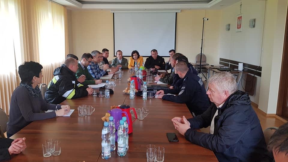 Marszałek Władysław Ortyl zadeklarował wsparcie finansowe dla poszkodowanych gmin