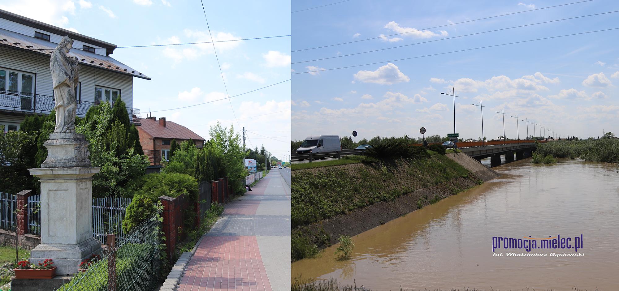 Czy św. Nepomucen uchroni Mielec i powiat od katastrofalnej powodzi?