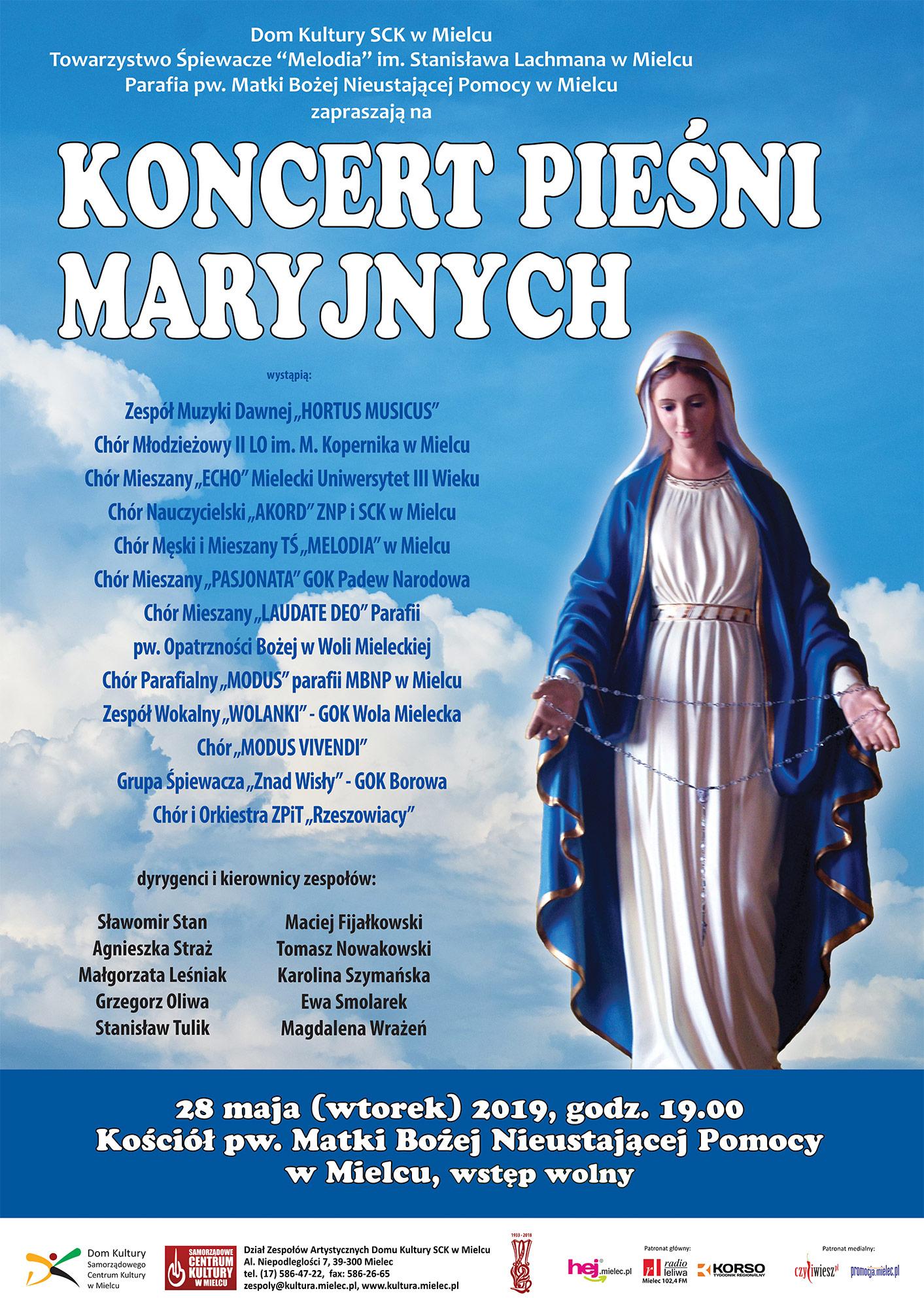 Koncert Pieśni Maryjnych w Mielcu