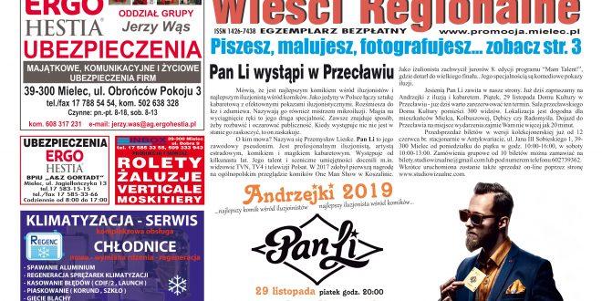 """""""Wieści Regionalne"""" nr 5-6 (359-360) z 17 VI 2019 r. – bezpłatna wersja elektroniczna pdf"""