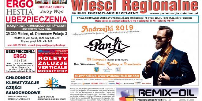 """""""Wieści Regionalne"""" nr 9-10 (363-364) z 7 X 2019 r. – bezpłatna wersja pdf"""