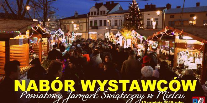 Rusza nabór wystawców na Powiatowy Jarmark Świąteczny