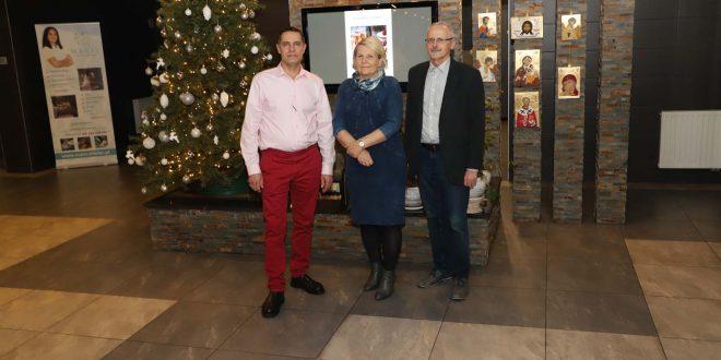 Od lewej Piotr Mazur, Krystyna Gargas-Gąsiewska i Włodzimierz Gąsiewski