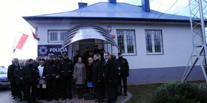 Uroczyste otwarcie Posterunku Policji w Wadowicach Górnych