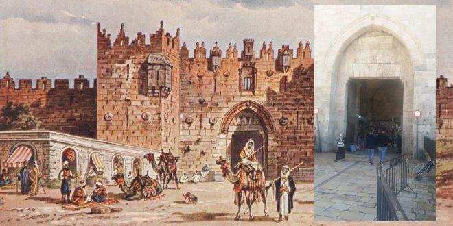 Z inspiracji Krzysztofa Pendereckiego – Wrota święte Jerozolimy – Brama Damasceńska
