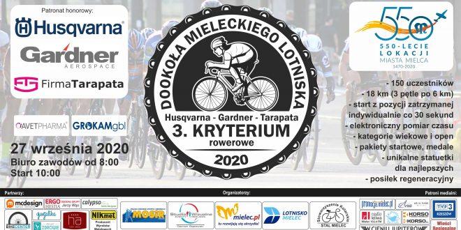 27 września kolejna edycja Kryterium rowerowego w Mielcu! ZAPISY!