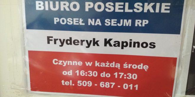 Poseł Fryderyk Kapinos otworzył biuro w Padwi Narodowej