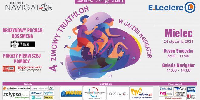 Ruszyły zapisy na 4. Zimowy Triathlon w Galerii Navigator