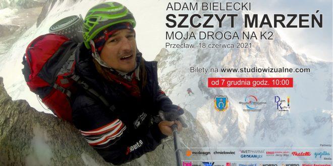 Adam Bielecki poprowadzi prelekcje w Przecławiu!