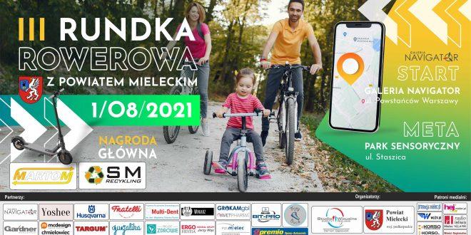 W sierpniu po raz trzeci Rundka Rowerowa z Powiatem Mieleckim